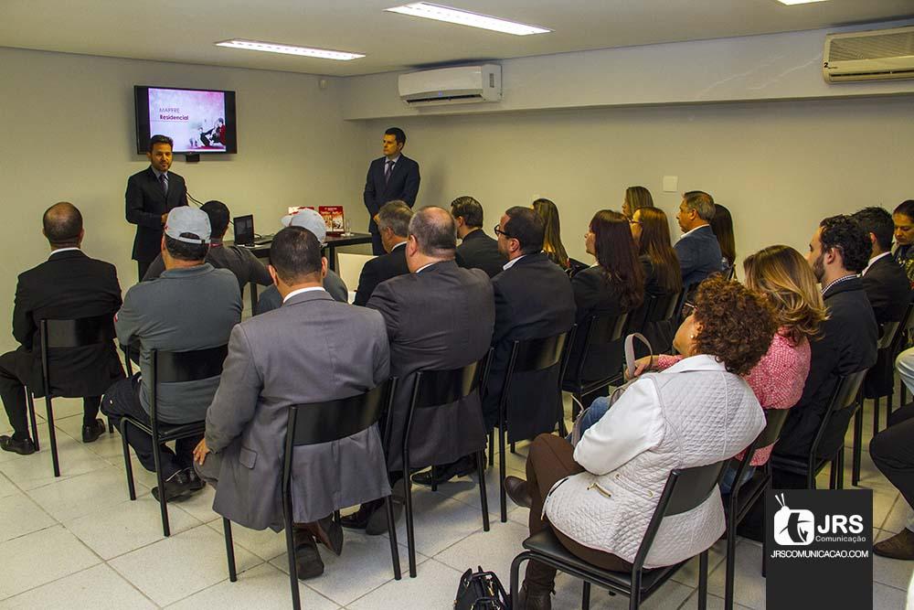Público acompanhou atentamente as novidades da MAPFRE. Filipe Tedesco/JRS