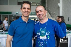 Da esquerda para direita: Rubens Oliboni (HDI) e Marcos Stock Trevisan, diretor da Sustentare.