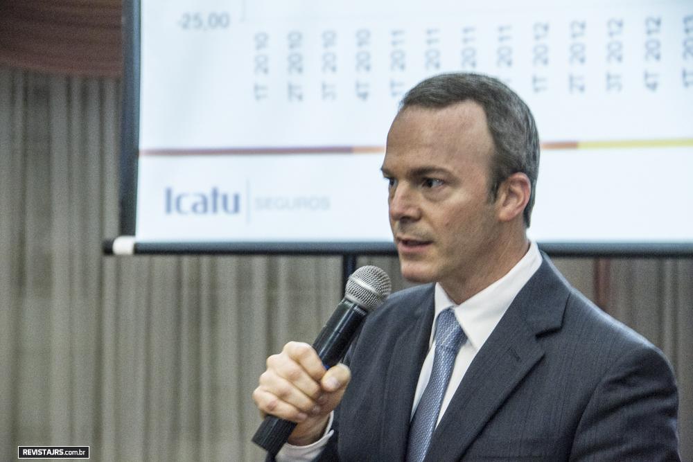 Luciano Snel é presidente da Icatu Seguros / Arquivo JRS