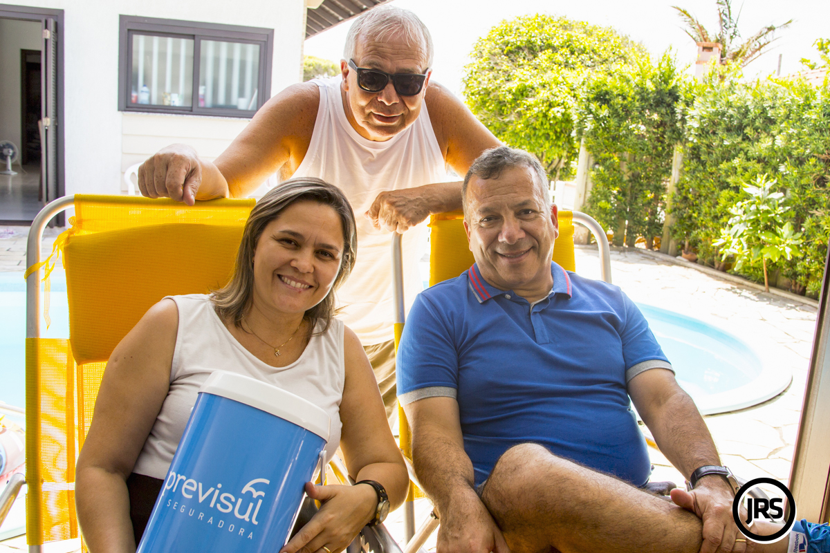 Alcimara Brito, Jean Carlo Figueiró e Jota Carvalho no Verão Super Seguro 2018