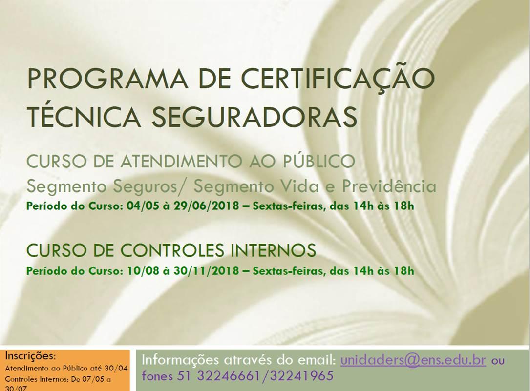 Atendimento ao público e controles internos são destaques em programa de certificação