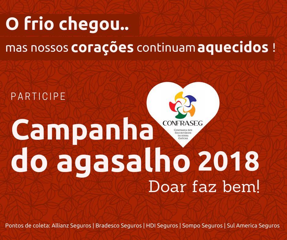 Campanha do Agasalho Confraseg 2018