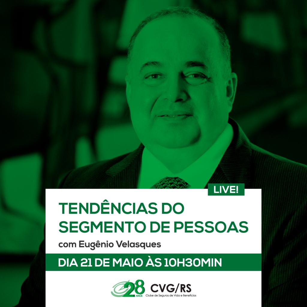 Live com Eugênio Velasquez