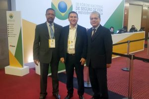 Presidente do CVG-RJ, Carlos Ivo Gonçalves, pres. do CVG-SP, Silas Kasahaya, pres. do CSP-MG, João Paulo Moreira de Mello