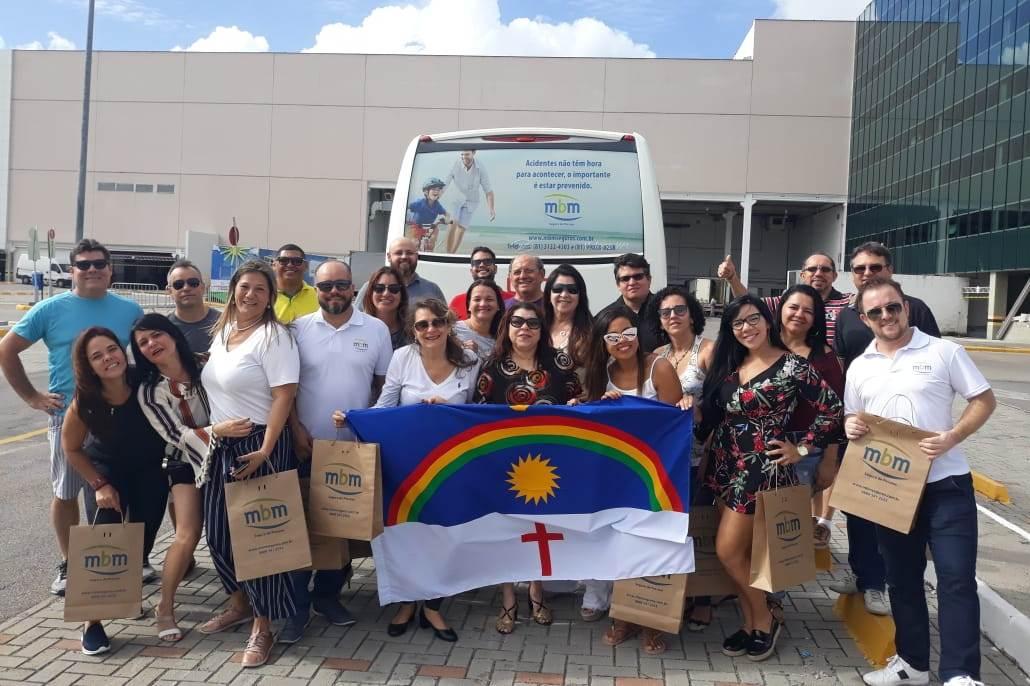 Grupo MBM levou corretores e associados ao Sincor-PE para o evento