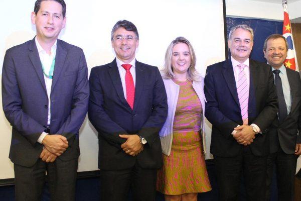 Eduardo Damato, Inaldo Bezerra, Vivien Lys, Jorge Tosta e Paulo Franceschini