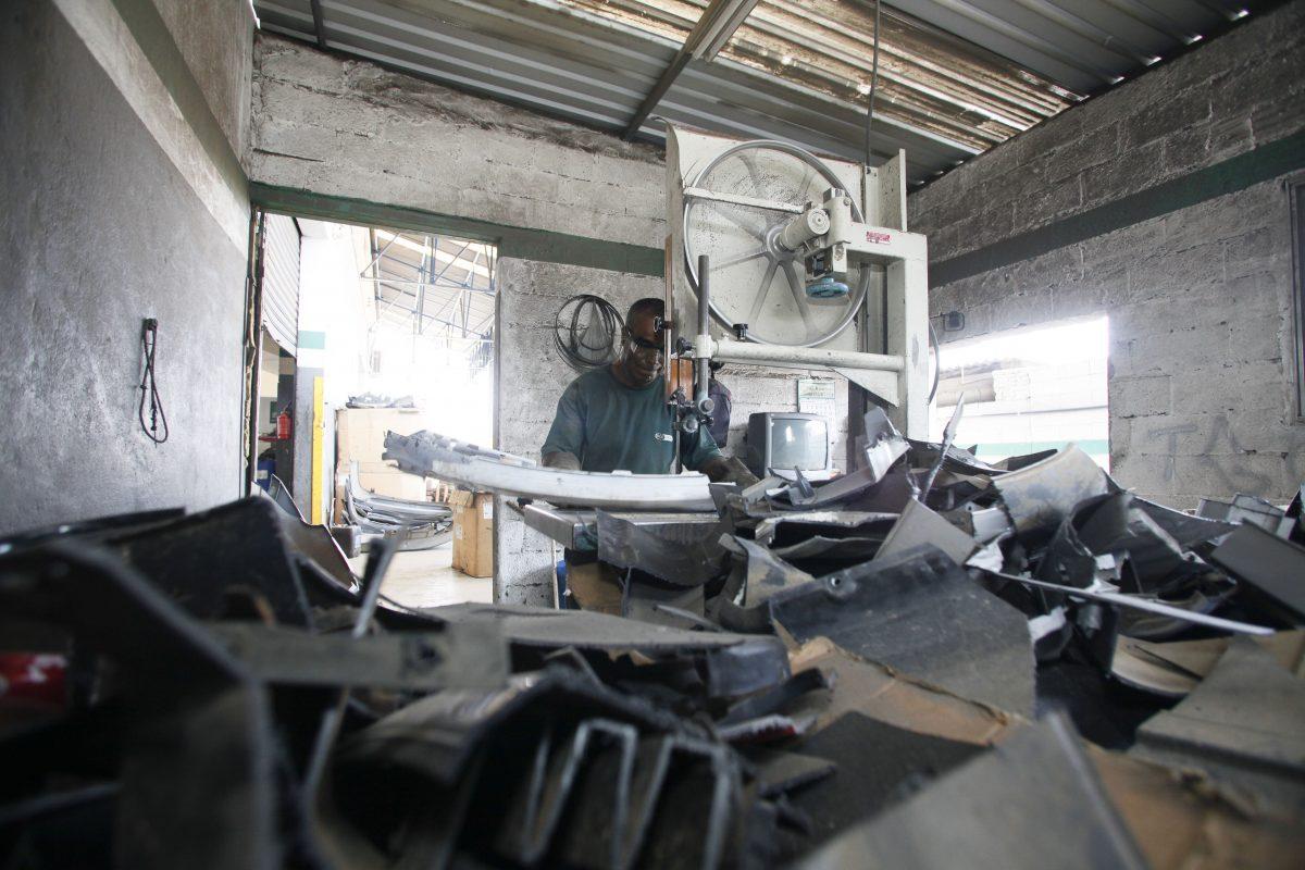 Programa de Reciclagem Grupo Bradesco Seguros / Divulgação