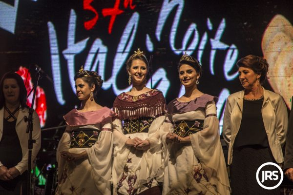 Rainhas da edição 2017 da Noite Italiana de Antônio Prado/RS