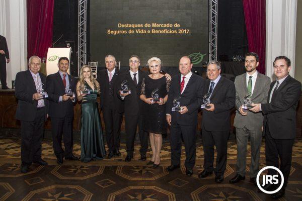 Os agraciados na edição 2017 da premiação
