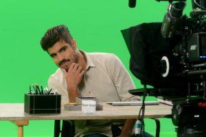 Caio Castro grava para Tele Sena