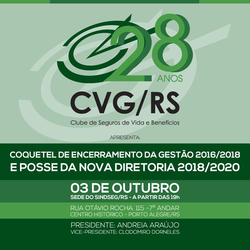 Posse da nova diretoria do CVG/RS