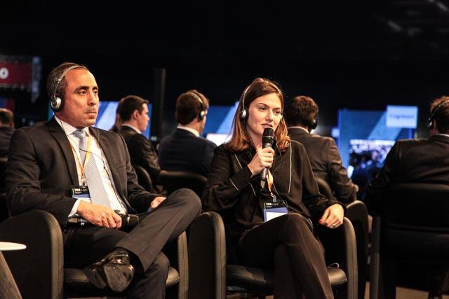 Raquel Giglio durante o painel 'Os desafios de ser um setor de saúde, não de doença'