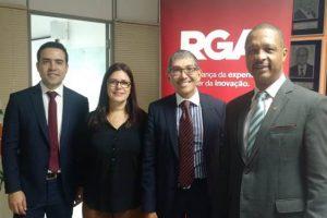 CVG-RJ recebe RGA Global Insurance