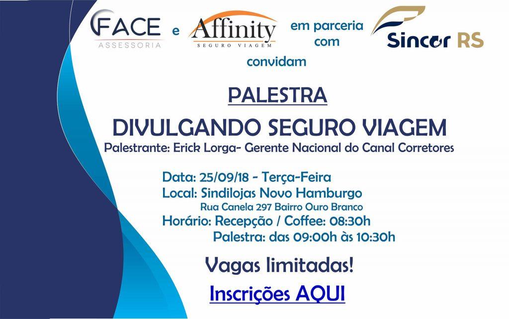 Sincor-RS promove palestras sobre Seguro Viagem
