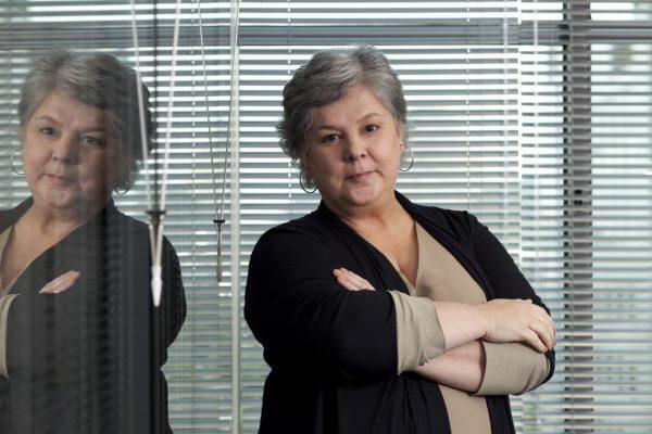 A ombudsman do grupo Icatu Seguros, Maria Helena Darcy, recebeu a homenagem