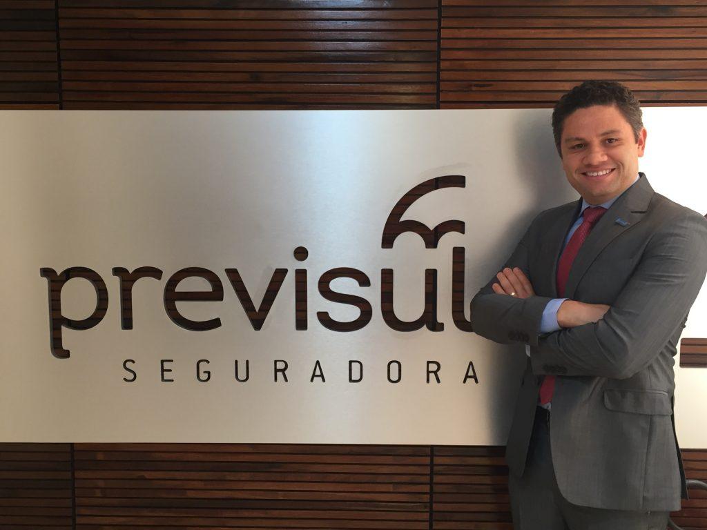 Thiago Henrique Soares é o novo diretor da Previsul Seguradora / Divulgação