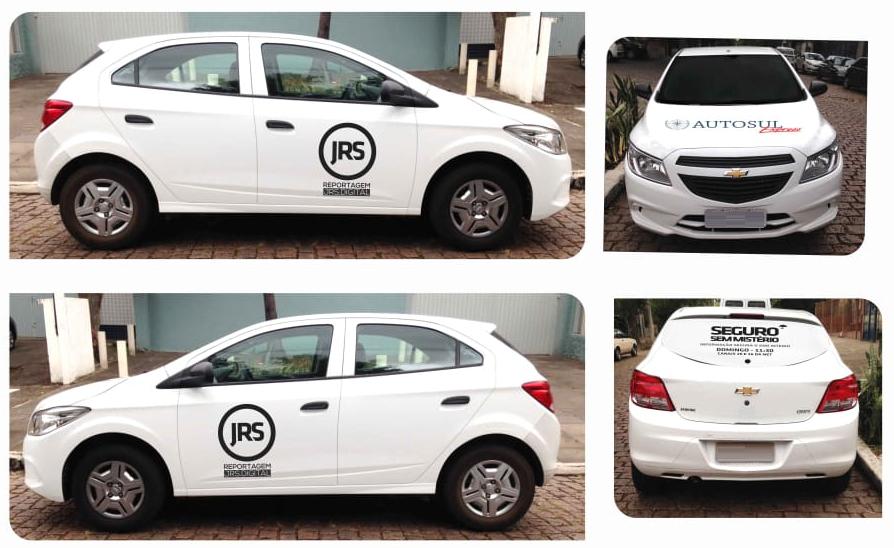 O carro de reportagem do #VerãoSuperSeguro do JRS é garantido pelo Grupo Autosul