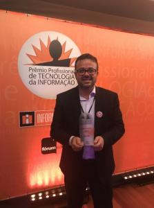 Cristiano Barbieri é eleito Profissional de TI 2018 / Divulgação
