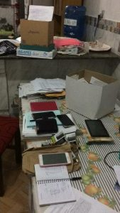 Documentos e equipamentos utilizados para as fraudes foram apreendidos
