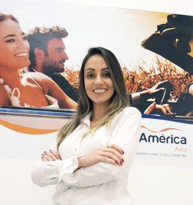 Paula Bueno, nova gerente da unidade Maringá (PR)