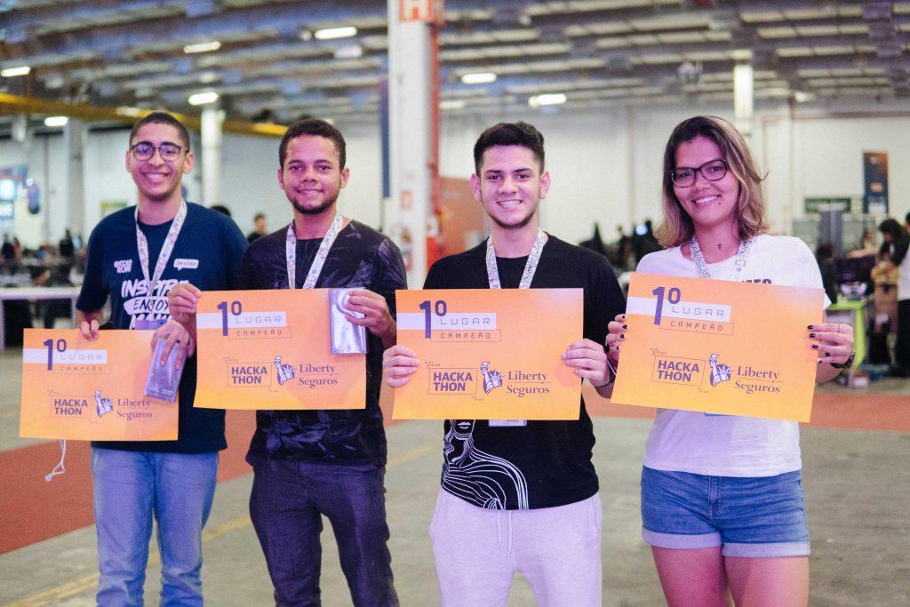 Vencedores Hackathon