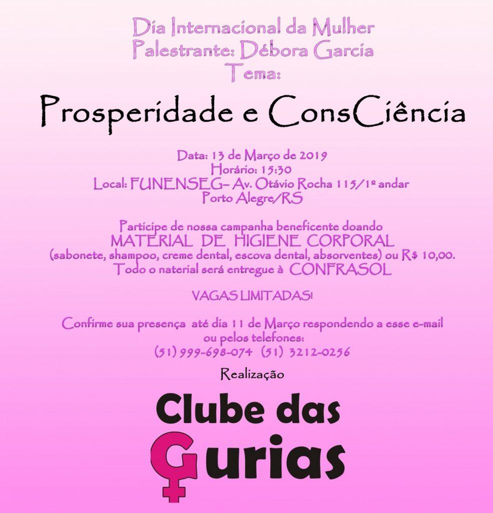Divulgação/Clube das Gurias
