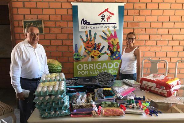Confrasol promove mais uma ação solidária