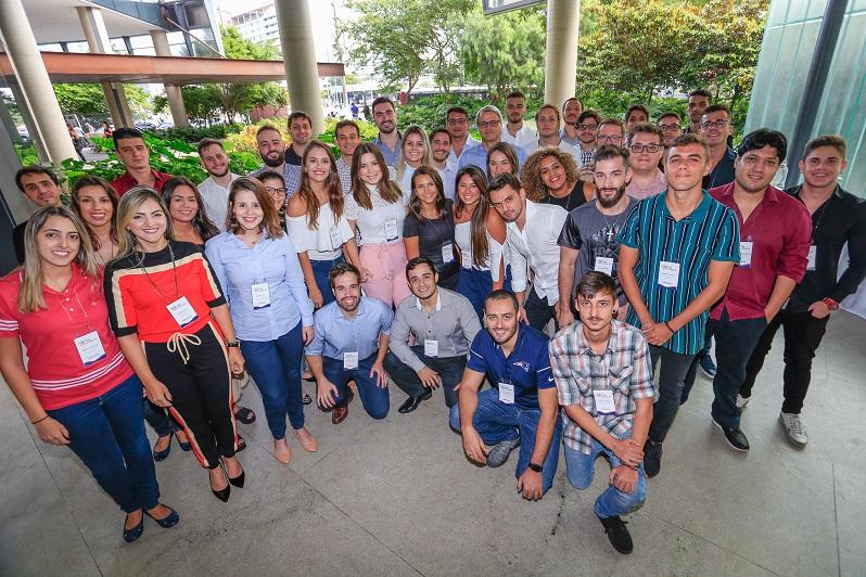 Participantes da 12ª edição do Corretor Nova Geração da SulAmérica