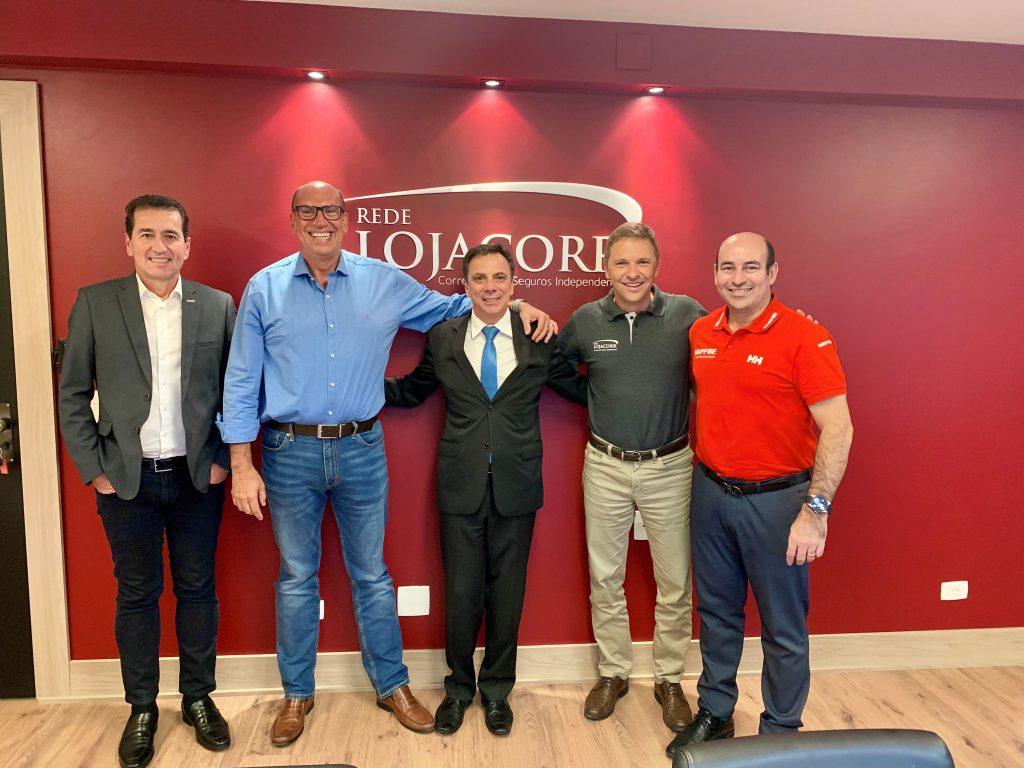 Rede Lojacorr intensifica parceria comercial com seguradora espanhola