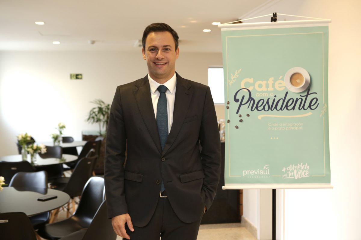 Renato Pedroso é o presidente da Previsul Seguradora / Divulgação