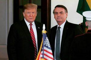 URGENTE: Trump diz que vai apoiar entrada do Brasil na OCDE