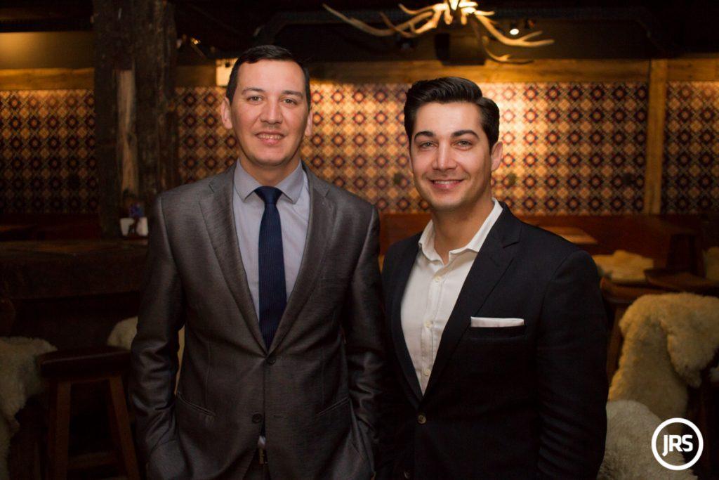 Luis Henrique Bueno e o irmão e parceiro de negócios Zênio Costa / Foto: Matheus Pé