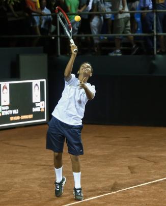 Aluno do Instituto Futuro participa do Ponto em Quadra no Rio Open
