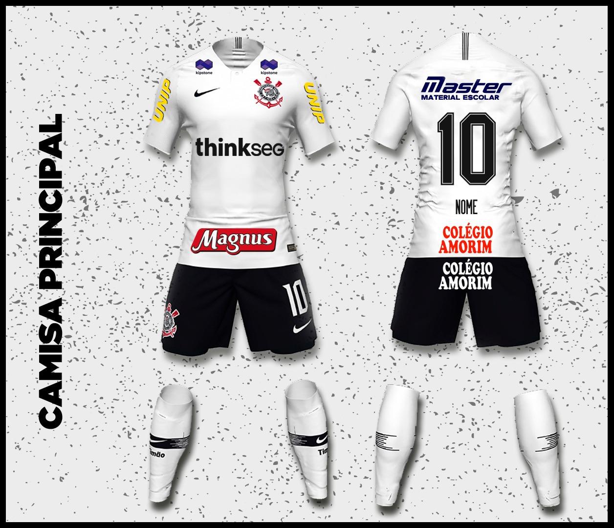 Futsal do Corinthians estreia com a marca da Thinkseg