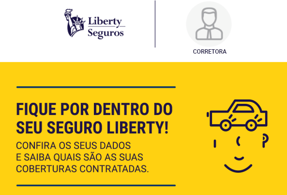 Welcome Kit Digital da Liberty vem com vídeo personalizado e logo do corretor