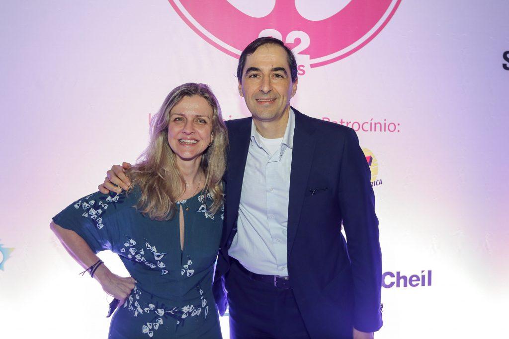O Diretor de Marketing do Grupo Bradesco Seguros, Alexandre Nogueira, e a Superintendente do setor, Ana Claudia Gonzalez / Divulgação