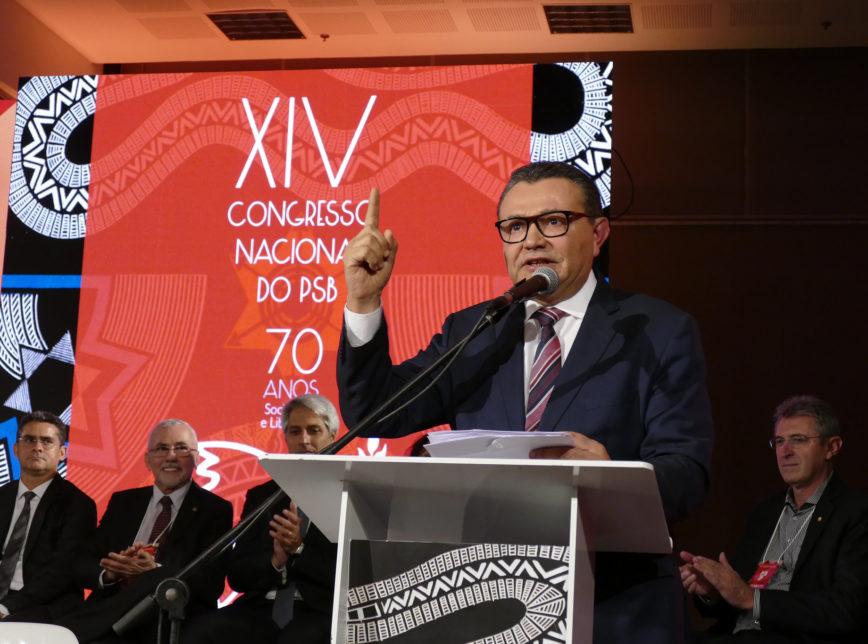 O presidente do Partido Socialista Brasileiro (PSB), Carlos Siqueira / Reprodução