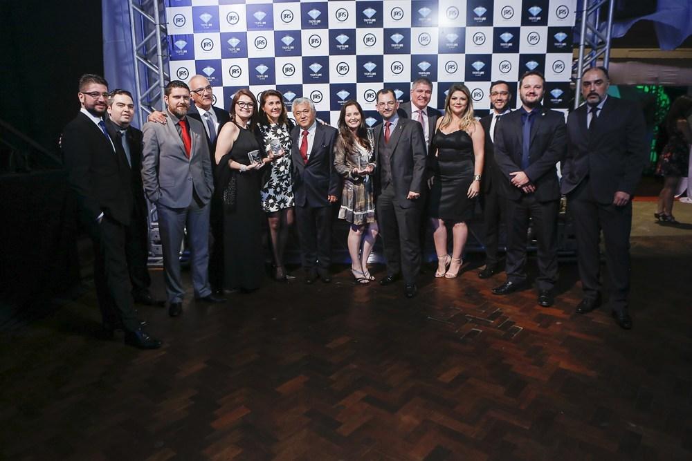 Equipe da Icatu Seguros no Troféu JRS do ano de 2017 / Arquivo JRS
