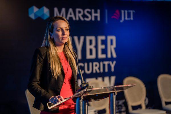 Marta Schuh, especialista em riscos cibernéticos da Marsh e JLT / Divulgação