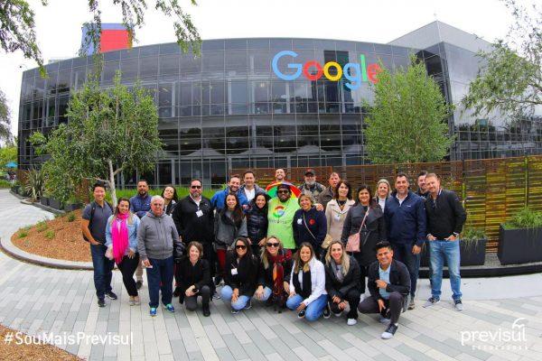 Corretores da Previsul Seguradora vivenciaram dias de muita tecnologia e inovação São Francisco, nos Estados Unidos