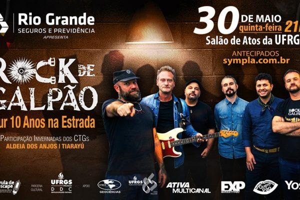 Rio Grande Seguros patrocina Rock de Galpão em Porto Alegre
