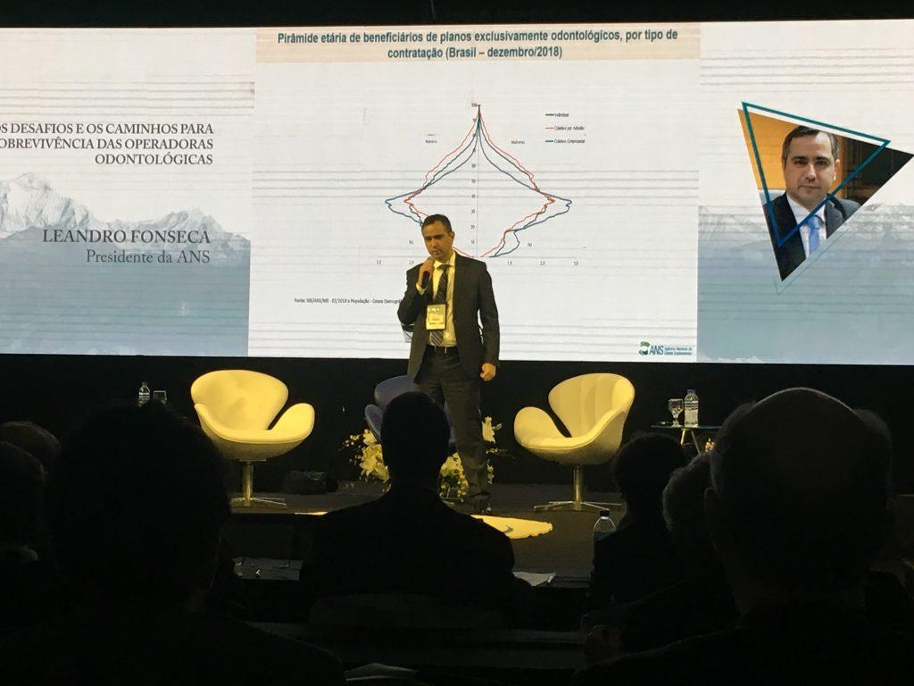 Leandro Fonseca é Presidente da ANS / Divulgação