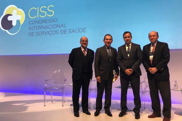 Seguros Unimed discute o engajamento do paciente durante o Congresso Internacional de Serviços de Saúde