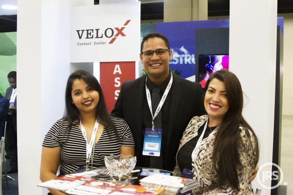 Equipe da Velox em evento sobre insurtechs e inovação / William Anthony