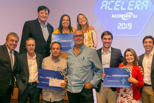 """Acelera Aconseg-RJ 2019"" premia corretores"