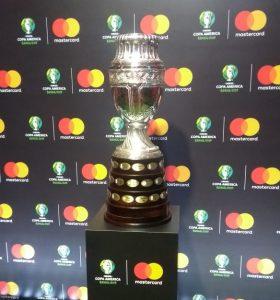 A taça da Copa América / Arquivo JRS