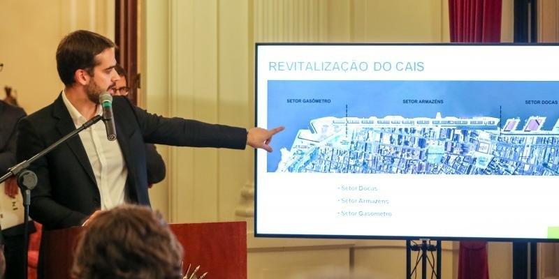 Governo do Rio Grande do Sul rompe contrato com o consórcio Cais Mauá