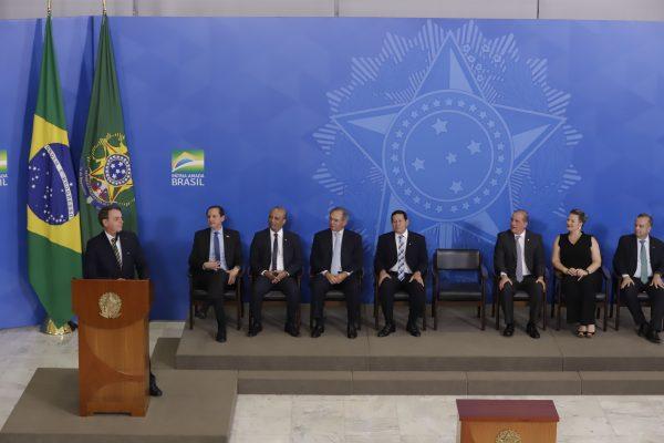Presidente Jair Bolsonaro em solenidade no Palácio do Planalto / Foto: Charles Damasceno