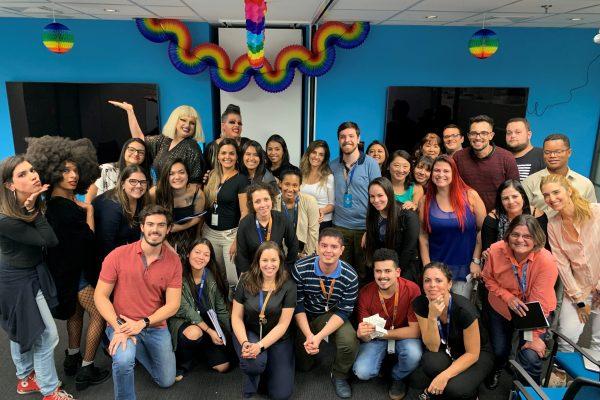 AIG Seguros mobiliza funcionários e promove ação no mês internacional do Orgulho LGBT