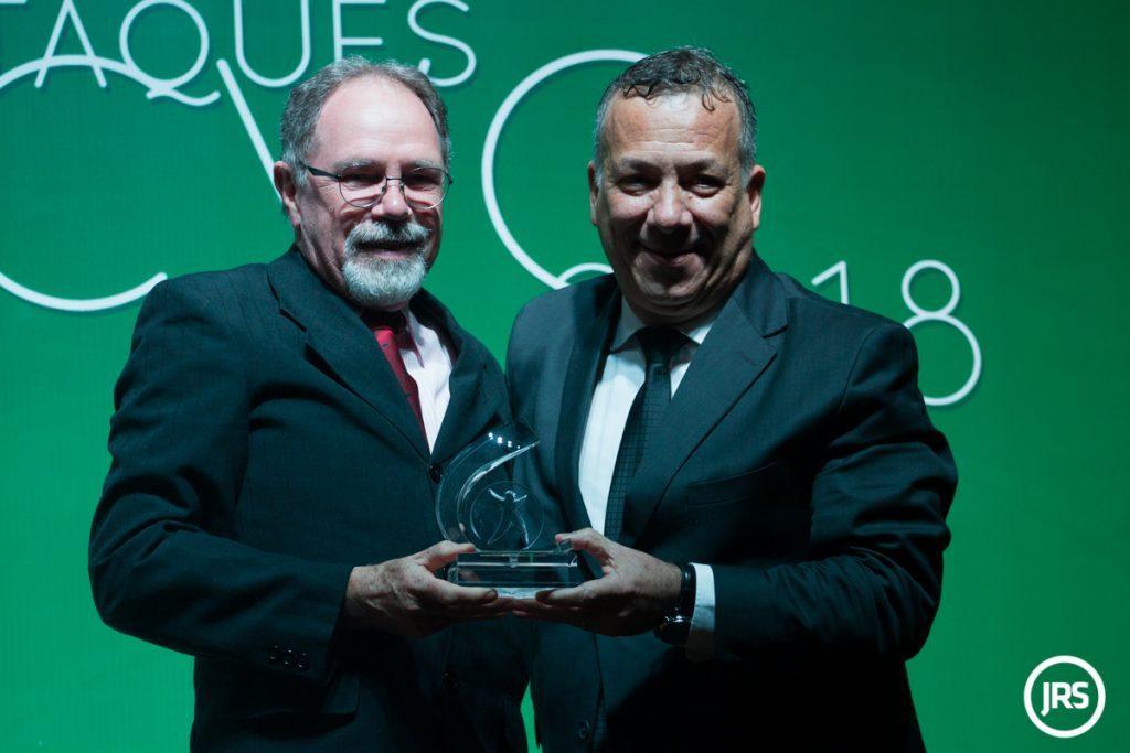 Jean Carlo Figueiró, executivo principal da KSA Corretora de Seguros, durante cerimônia do CVG-RS em 2018 / Arquivo JRS